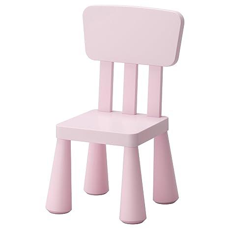 Ikea Mammut Rosa Bambini Sedia Per Bambini Amazon It Casa E Cucina