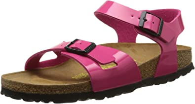 Birkenstock Girls' Rio Rear Flange: Amazon.co.uk: Shoes & Bags