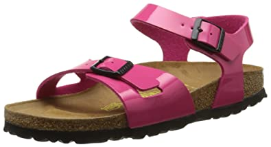 3384876e1fdc Birkenstock Girls  Rio Sandals Pink  Amazon.co.uk  Shoes   Bags