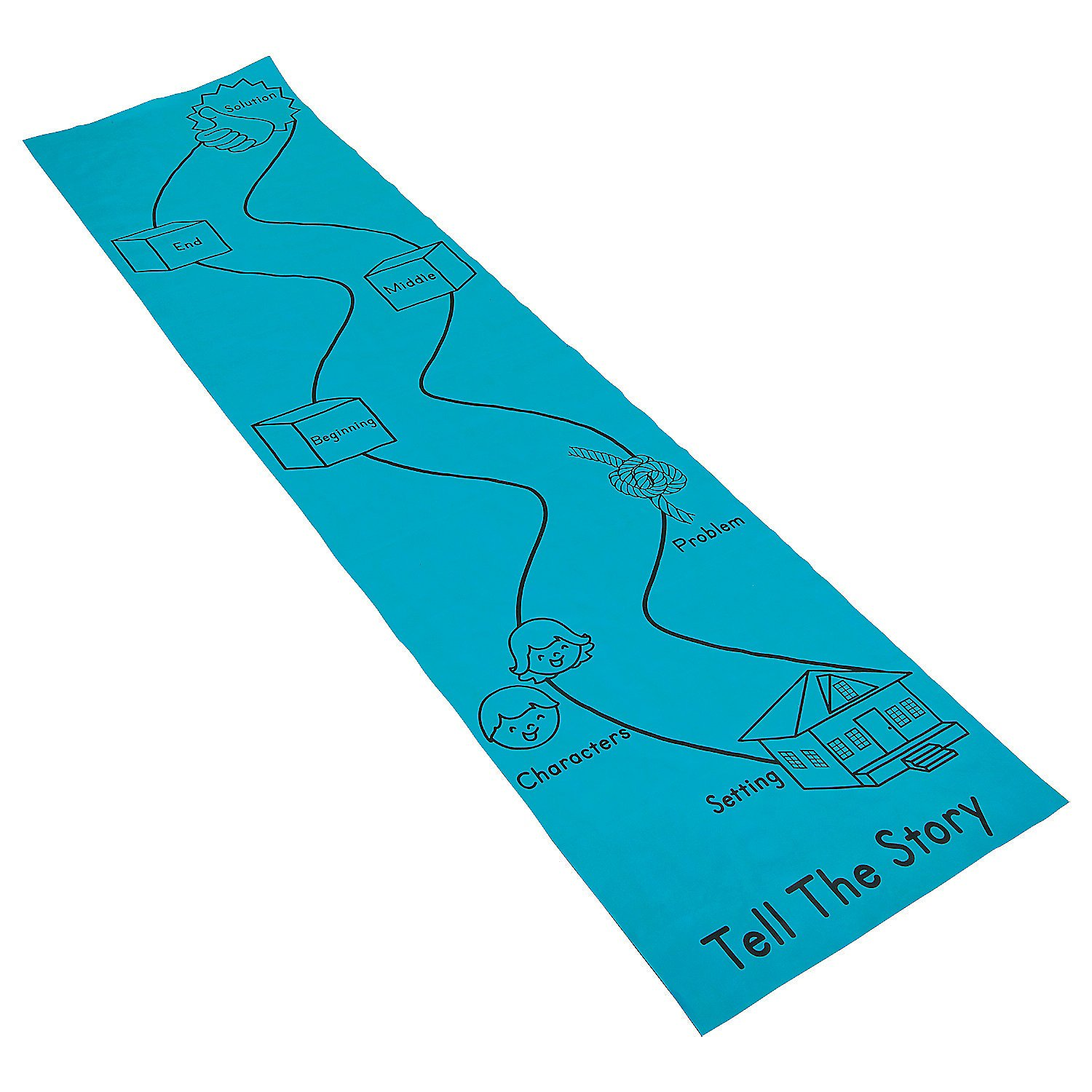 Tell the Story Aisle Runner by Fun Express