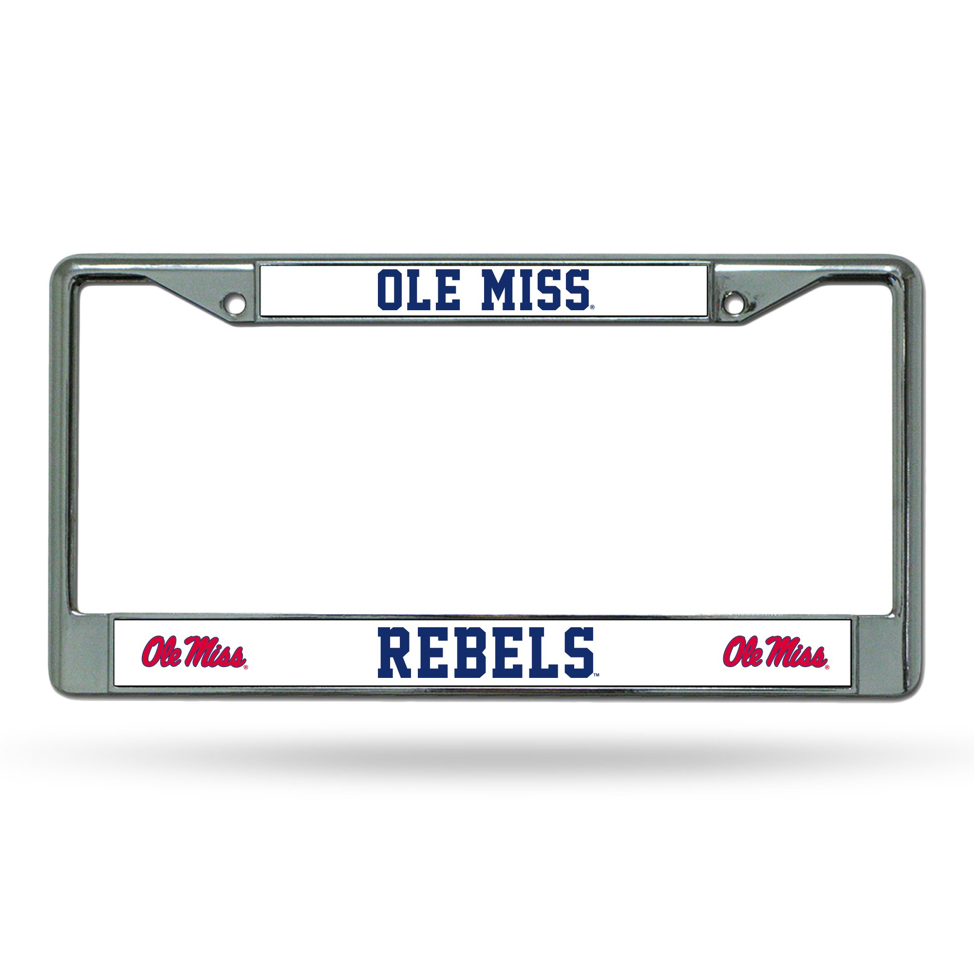 Tervis 1218398 Ole Miss Rebels College Statement Tumbler with Wrap and Navy Lid 24oz Clear
