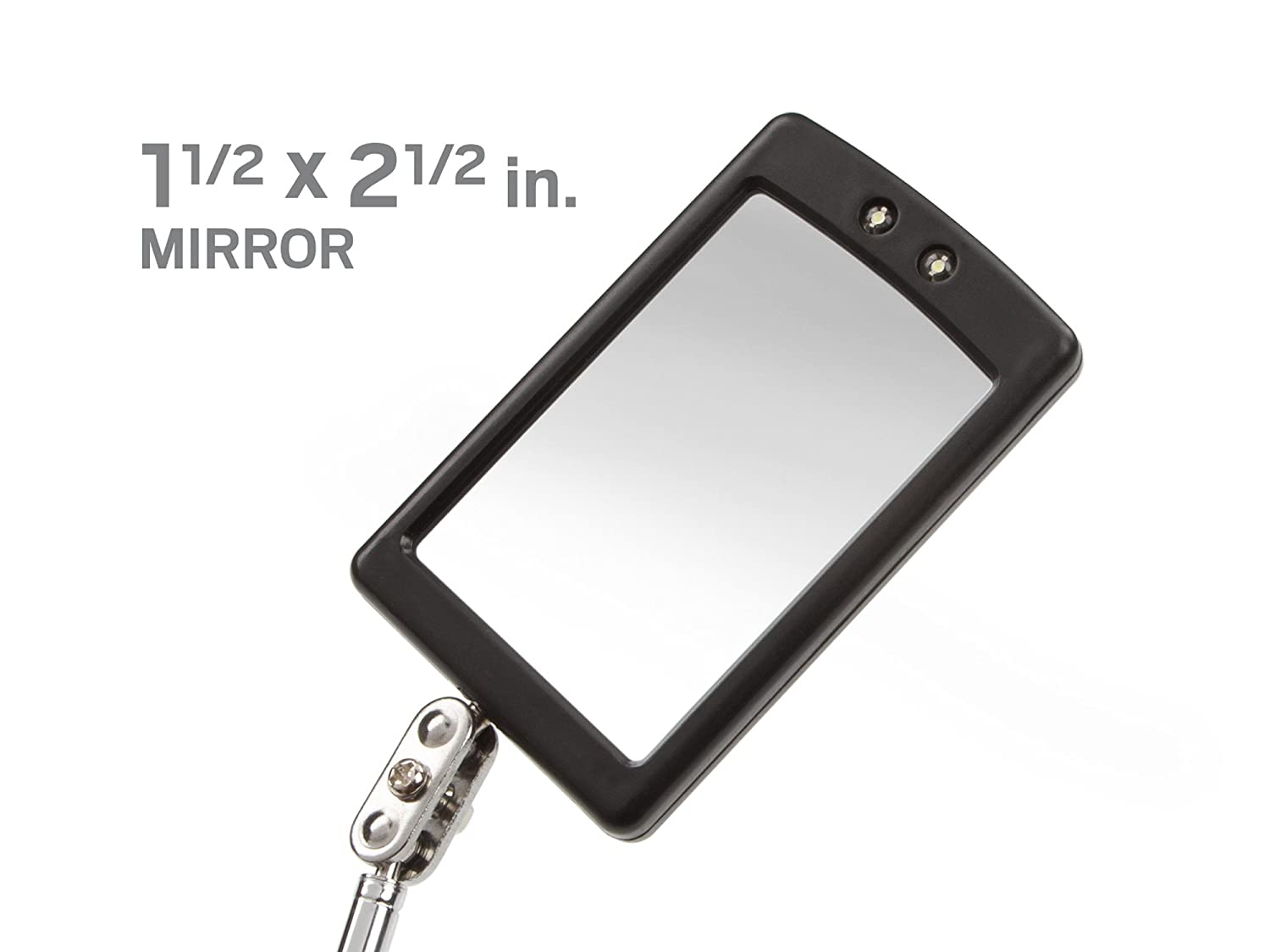 hand holding mirror drawing. Amazon.com: TEKTON 7609 Telescoping Lighted Inspection Mirror: Home Improvement Hand Holding Mirror Drawing .