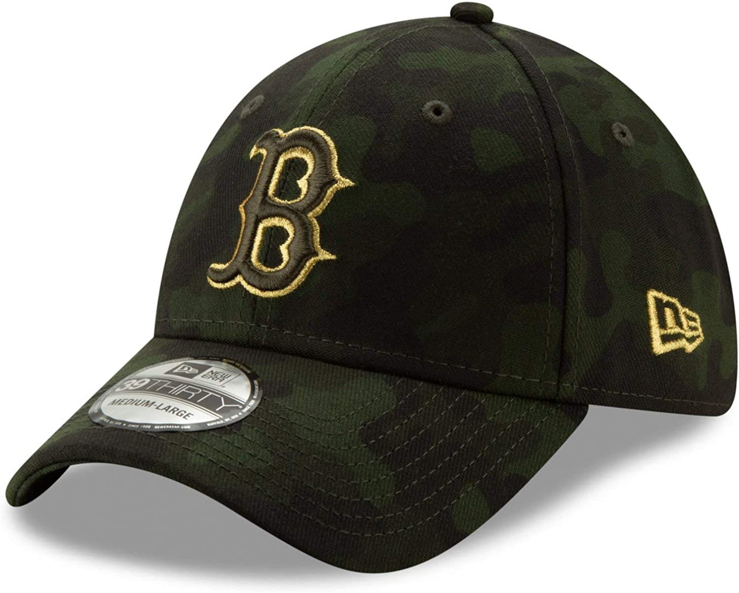 New Era 2019 MLB Boston Red Sox Hat Cap Armed Forces Day 39Thirty 3930