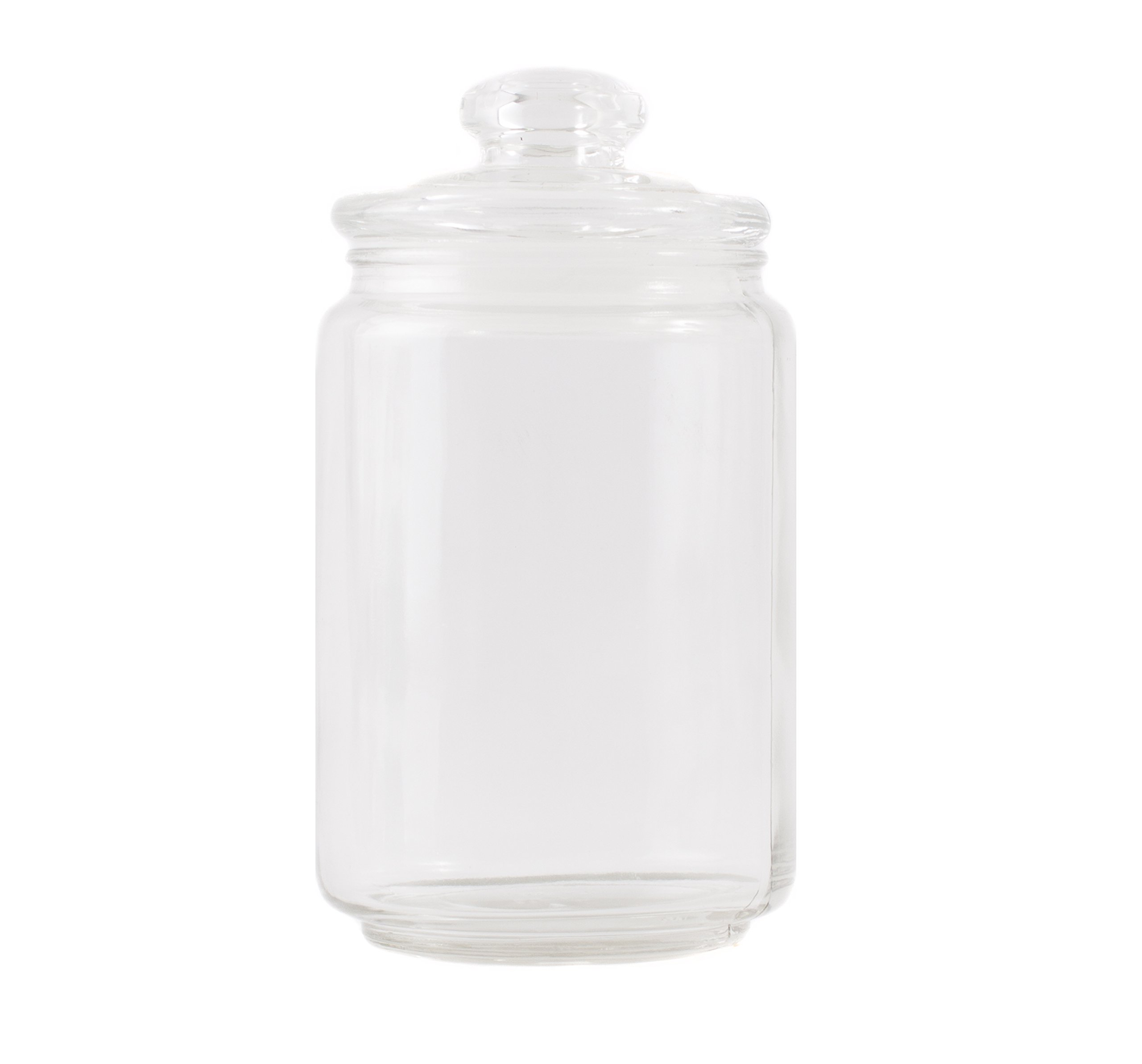 600ml Glass Candle Jar with Lid x 24
