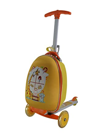 Purposefull Children's Luggage Scooter - Child's Suitcase - Carry ...