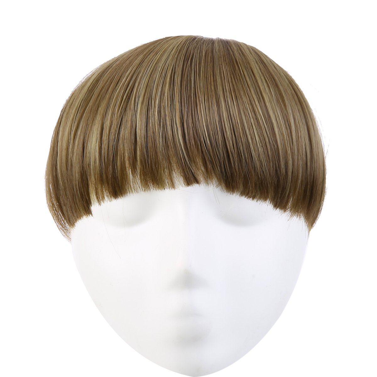 Sarla Synthetic Hairpieces False Clip In Bangs Fringe Front Neat