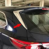RUIQ マツダ 新型 CX-8 KG系 2017 2018 専用 外装 パーツ リアハッチ サイドピラー パネル 左右セット サイドモール メッキ ガーニッシュ ドレスアップ カスタムパーツ MAZDA CX8 専用 設計