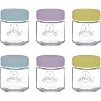 Kilner 0025.016 Set van 6 Kids Potten 110ml, Glas