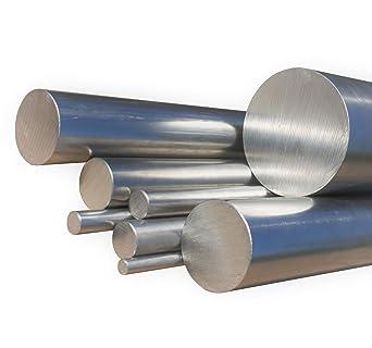 Zuschnitt Edelstahl Rundstab VA V2A 1.4301 blank h9 /Ø 40 mm 100cm L: 1000mm