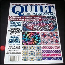 Quilt Almanac Magazine 2005