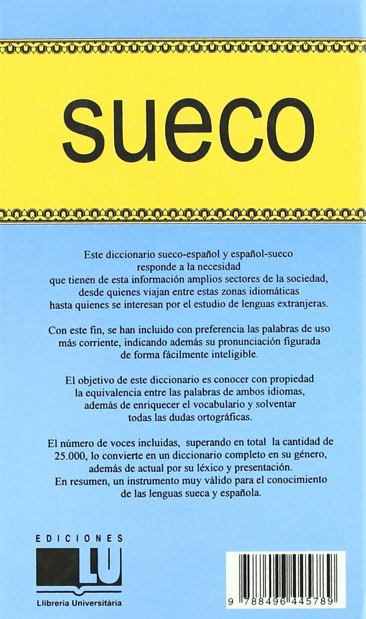 Diccionario Sueco-Español / Español-Sueco: VARIOS: 9788496445789 ...