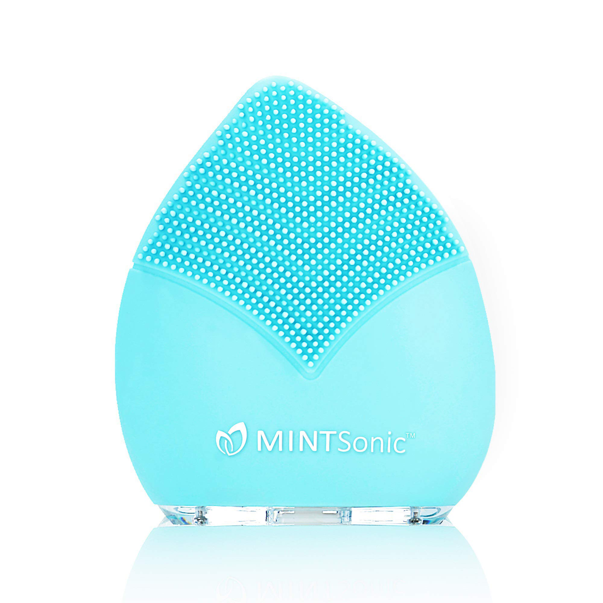 The Ultimate Sonic Facial Cleansing Brush ! Exfoliating Skin Care Electric Silicone Brush. Perfect Cleansing Tools and Brushes for Your Face in One Portable, Rechargeable Smart Device! by MINTSonic