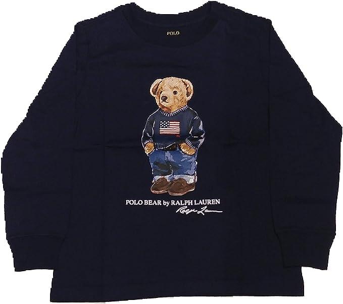 Polo Ralph Lauren - Bear tee TP TSH - Camiseta Manga Larga Oso (14 ...