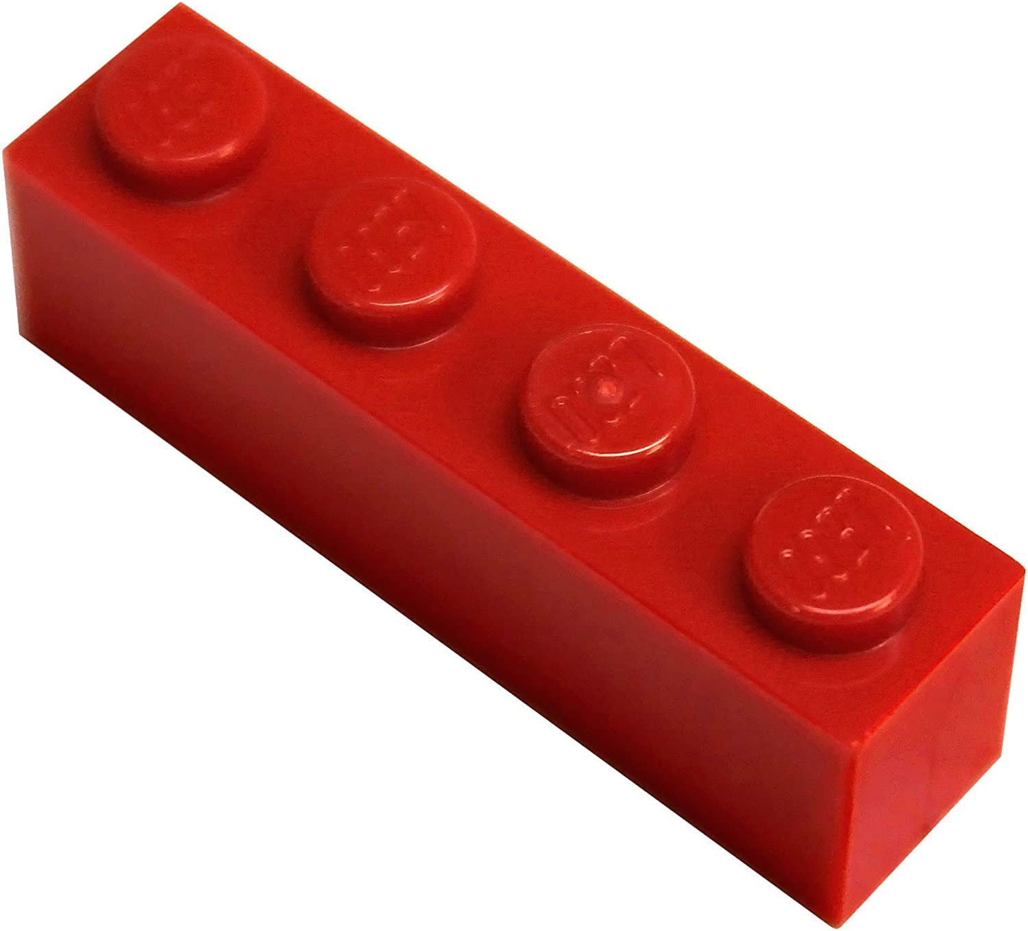LEGO Parts and Pieces: Red (Bright Red) 1x4 Brick x50