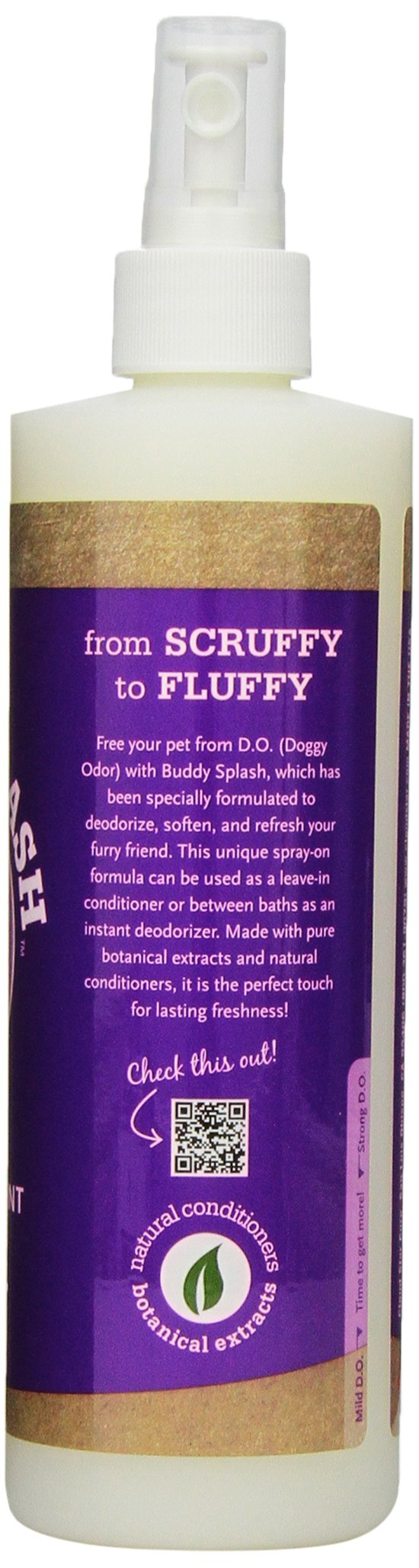 Cloud Star Buddy Splash Dog Spritzer and Conditioner, Lavender/Mint, 16-Ounce
