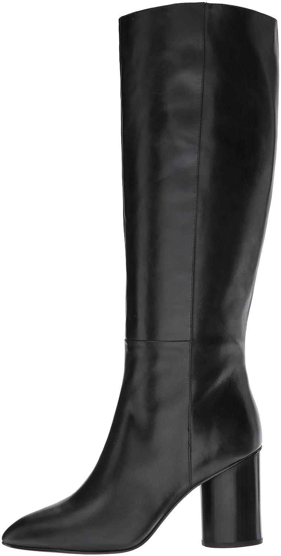 Nine West Women's Christie Knee High Boot B01N18NZC5 10 B(M) US|Black Leather