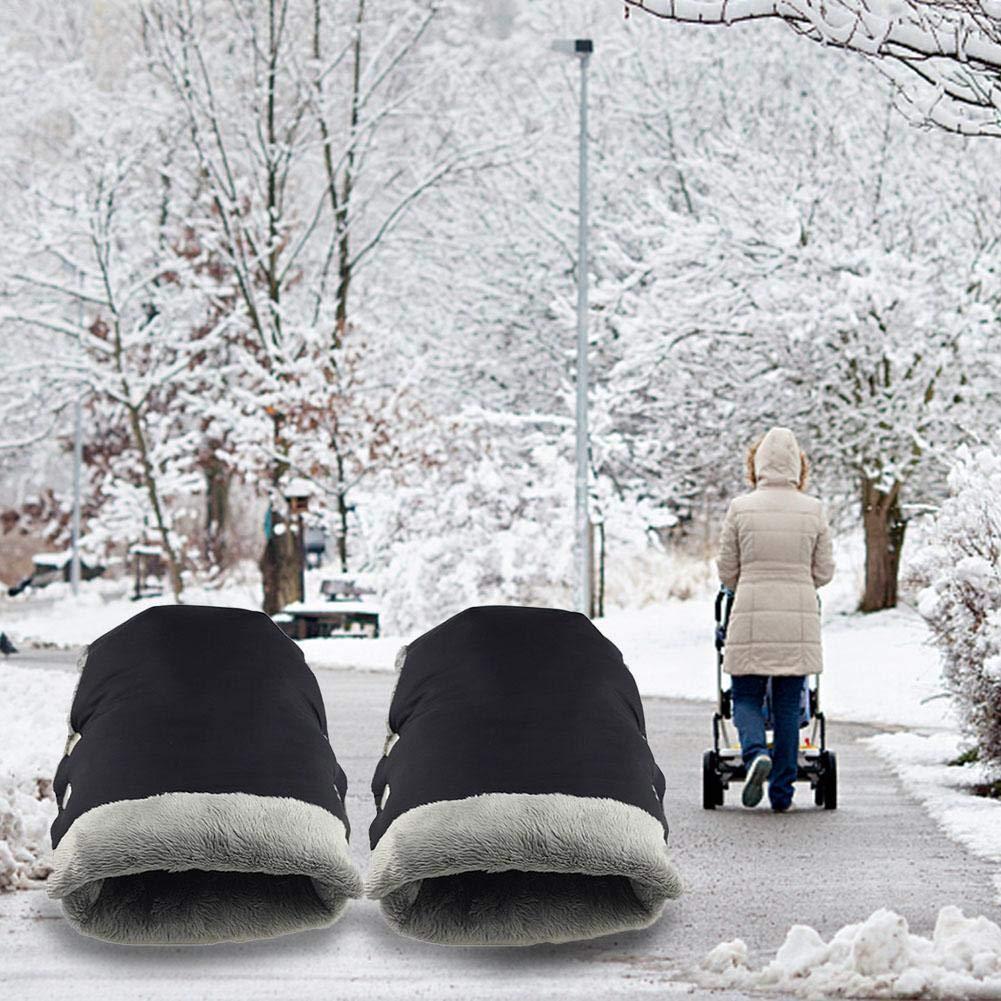 Todaytop Winter Handw/ärmer Handschuhe Handmuff Kinderwagenmuff f/ür Kinderwagen Buggy Radanh/änger Kinderwagen Griffe Schutzh/üllen Hand Muff