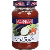 Agnesi安尼斯多种蔬菜意大利面调味酱400g(意大利进口)(新老包装 随机发货)