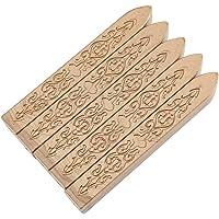 5 Unidades/set Sellado Wax Stick, Manuscrito Craft Envelope DIY Sello de Cera Sello de Invitación Carta Melting Wax Rod(bronce)