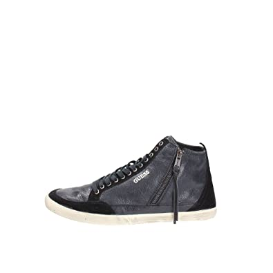 Guess Scarpe Sportive Stivaletto Uomo MOD. Verrel Sneaker FM4VERLEA12 col. Nero.