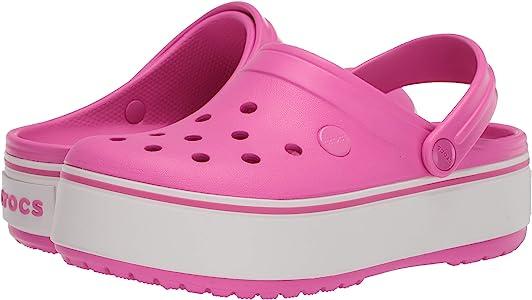 Crocs Kids' Crocband Platform Clog