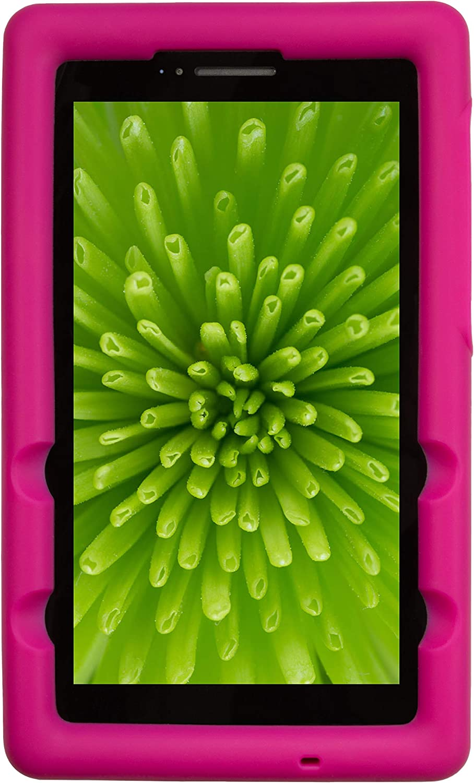 BobjGear Bobj Rugged Tablet Case for Lenovo Tab E7 (TB-7104F) Kid Friendly (Rockin' Raspberry)