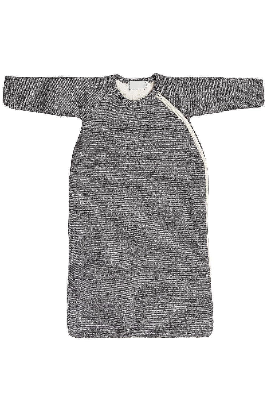 Baby Toddler Winter Sleeping Bag Wearable Blanket with Sleeves, Organic Merino Wool Cotton, Sizes 3M – 3T
