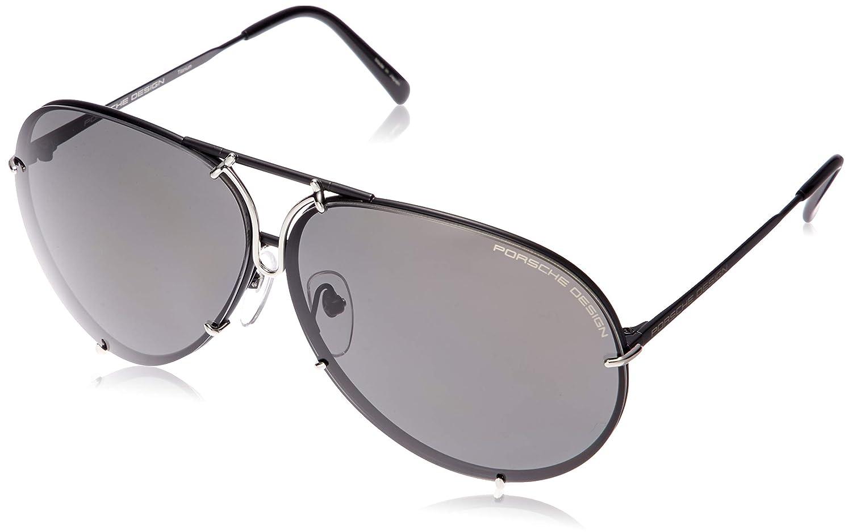 Amazon.com: Porsche diseños anteojos de sol P8478 D Negro ...