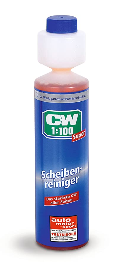 Dr. Wack 1745 CW 1:100 Super - Jabón para sistema de limpiacristales de