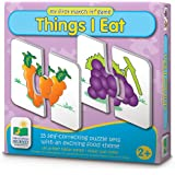 The Learning Journey My First Match It - Things I Eat - 15 Self-Correcting Food Themed Image Matching Puzzles