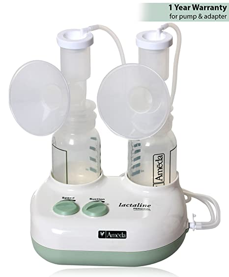 electric Lactaline pump dual breast
