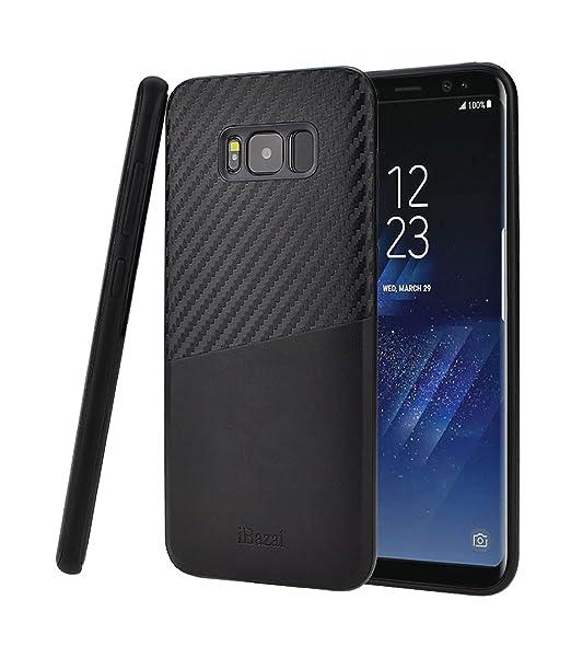 2 opinioni per Cover Galaxy S8, iBazal Samsung Galaxy S8 Custodia in Pelle con il Disegno Della