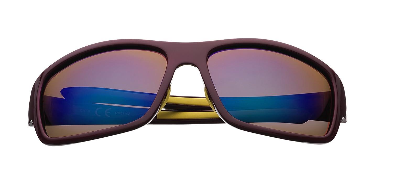 Zippo Polarized Blue Flash Mirror Lens Gafas de Sol, Unisex ...