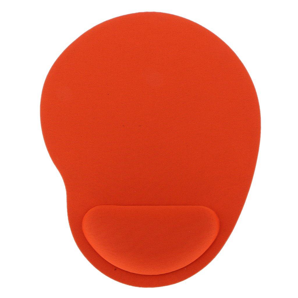 Alfombrilla de Ratón con Reposamuñecas Cojín de Ratón Gel Mouse Pad Varios Colores - Rojo Generic STK0151003975