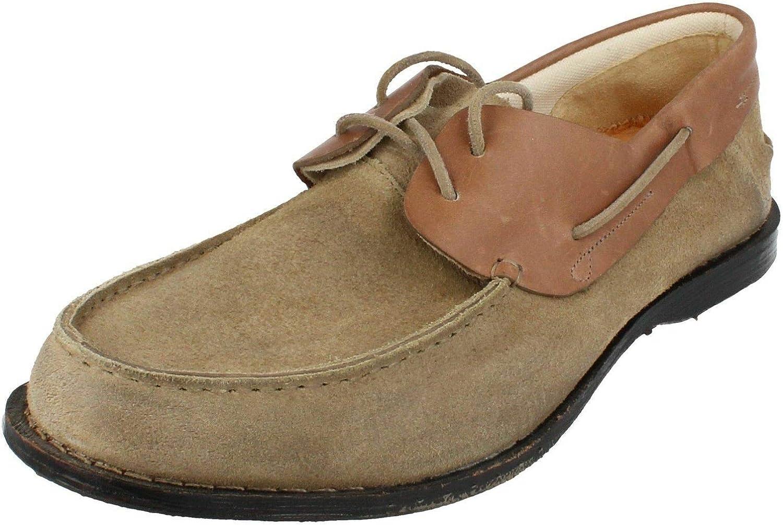 Procesando Preescolar pecho  Timberland Men's Boot Company Counterpane 2-Eye Boat Shoes (75564) (Grey)  (UK 8.5 / EU 43 / US 9 / cm 27.0): Amazon.co.uk: Shoes & Bags