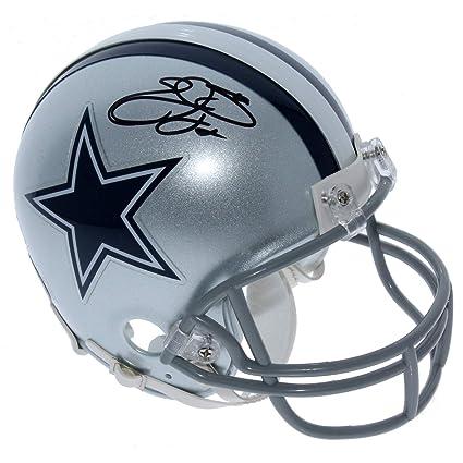 ba00346d Amazon.com: Emmitt Smith Dallas Cowboys Autographed Signed Riddell ...
