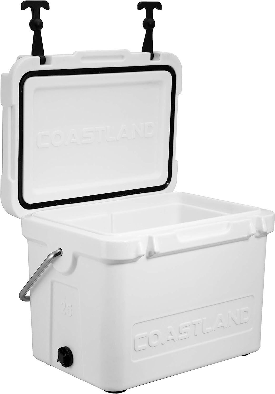 Coastland Bay Series Coolers | Premium Everyday Use Insulated Cooler | Ice Chest available in 15-Quart, 20-Quart & 25-Quart Capacity