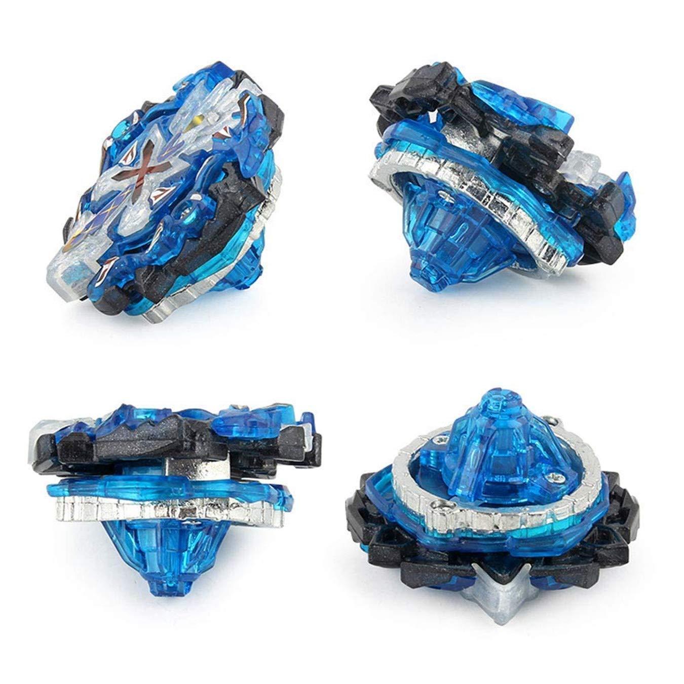 B-00 Queque Shine Set de Beyblade Lutte Ma/îtres Fusion Spinning Top Toupie Gyro M/étal Rapidit/é Jouet et Cadeaux Int/éressant pour Enfants
