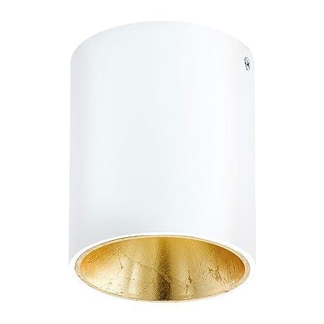 Aufbaustrahler Aluminium Ø10cm GU10 Schwarz Innenlampe Strahler Deckenspot innen