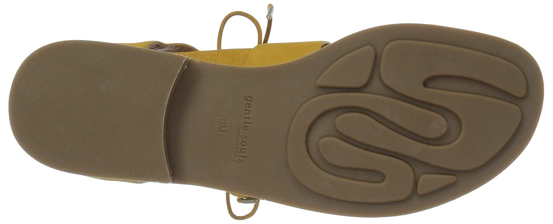 0ee68932ba06 Amazon.com  Gentle Souls Women s Fina Lace-up Sandal Flat  Shoes