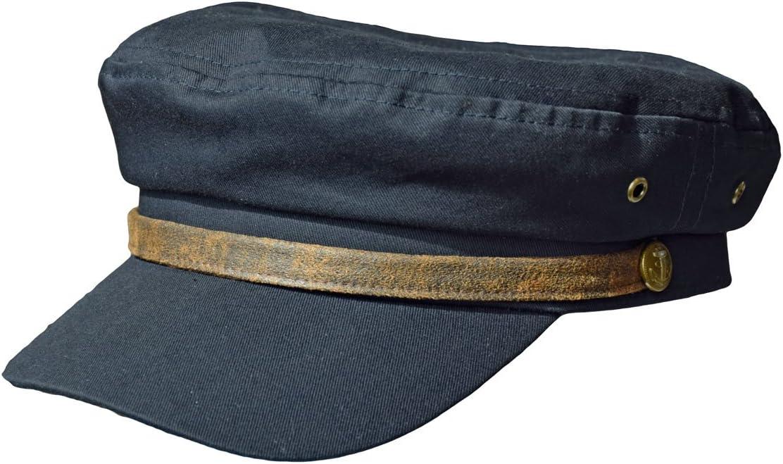 Balke Casquette des Matelots de lElbe Fisherman Style Cotton Canvas