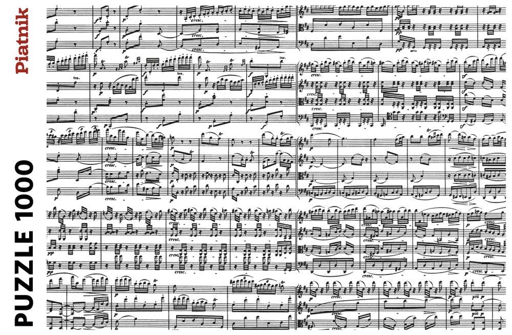 Piatnik Musical Notes 1000 piece puzzle