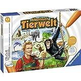 Ravensburger tiptoi Spiel Abenteuer Tierwelt - 00513 / Tierwissen erfahren und Laute erkennen: Aufregendes Konzentrationsspiel für Kinder von 4 - 8 Jahre