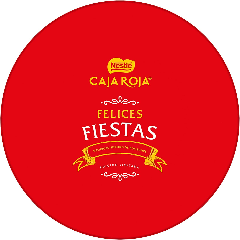 NESTLÉ CAJA ROJA Bombones de Chocolate - Lata de bombones 500g: Amazon.es: Alimentación y bebidas