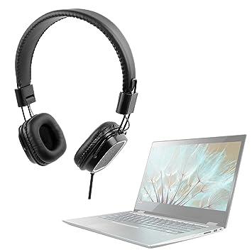 DURAGADGET Auriculares de diadema negros para Portátil Medion MD 60686 / Asus K541UJ-GQ125T /