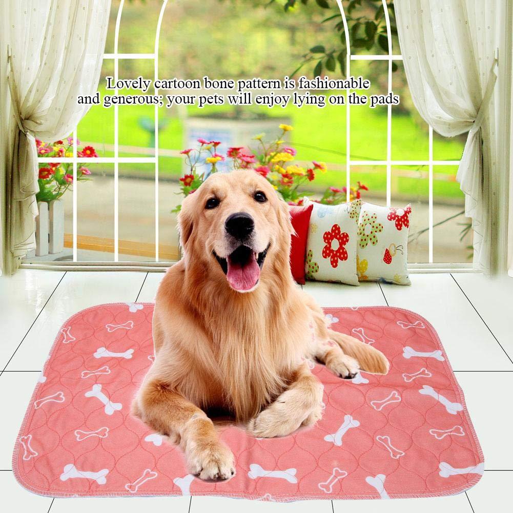 40 * 60cm 3 Dimensioni Riutilizzabile Impermeabile Puppy Dog Cat Pee Bed Pad Tappeto Lavabile Pet Trainging Pads Super Assorbente Dog Urina Mat Smandy Pet Pee Pad