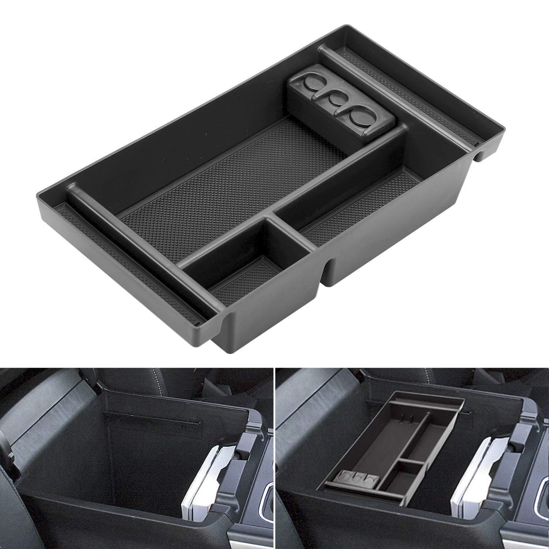 Center Console Organizer for 2019 Chevy Silverado 1500 / GMC Sierra 1500 Accessories ABS Tray Armrest Box Secondary Storage     by Seven Sparta