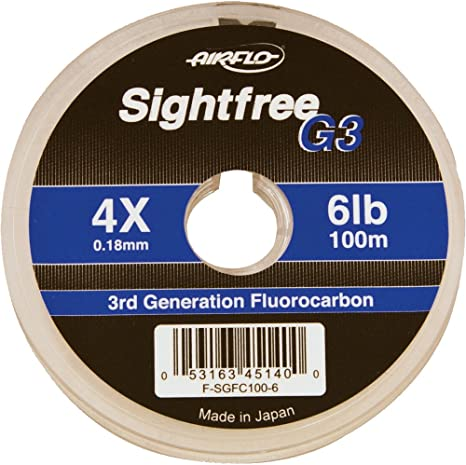 Fishing Airflo Sightfree G3 Fluorocarbon 50m Line