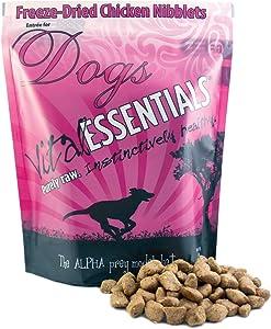 Vital Essentials Freeze-Dried Grain-Free Chicken Nibblets Dog Food, 1 lb.
