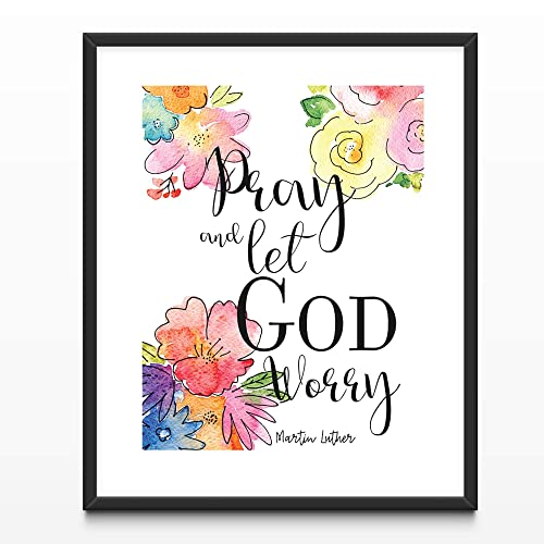 Amazoncom Floral Watercolor Christian Typography Martin Luther
